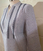 Blouse with Brode Details