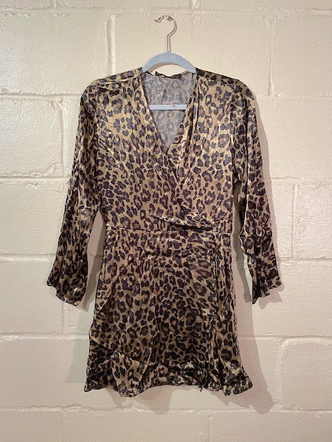 Leopar Printed Dress