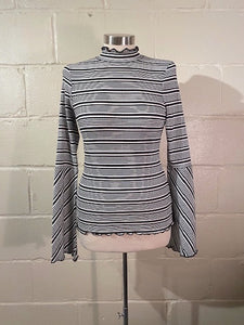 Skinny Striped Blouse