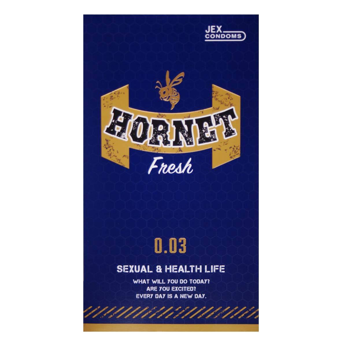 Jex Hornet 0.03 Fresh 8's Pack Latex Condom