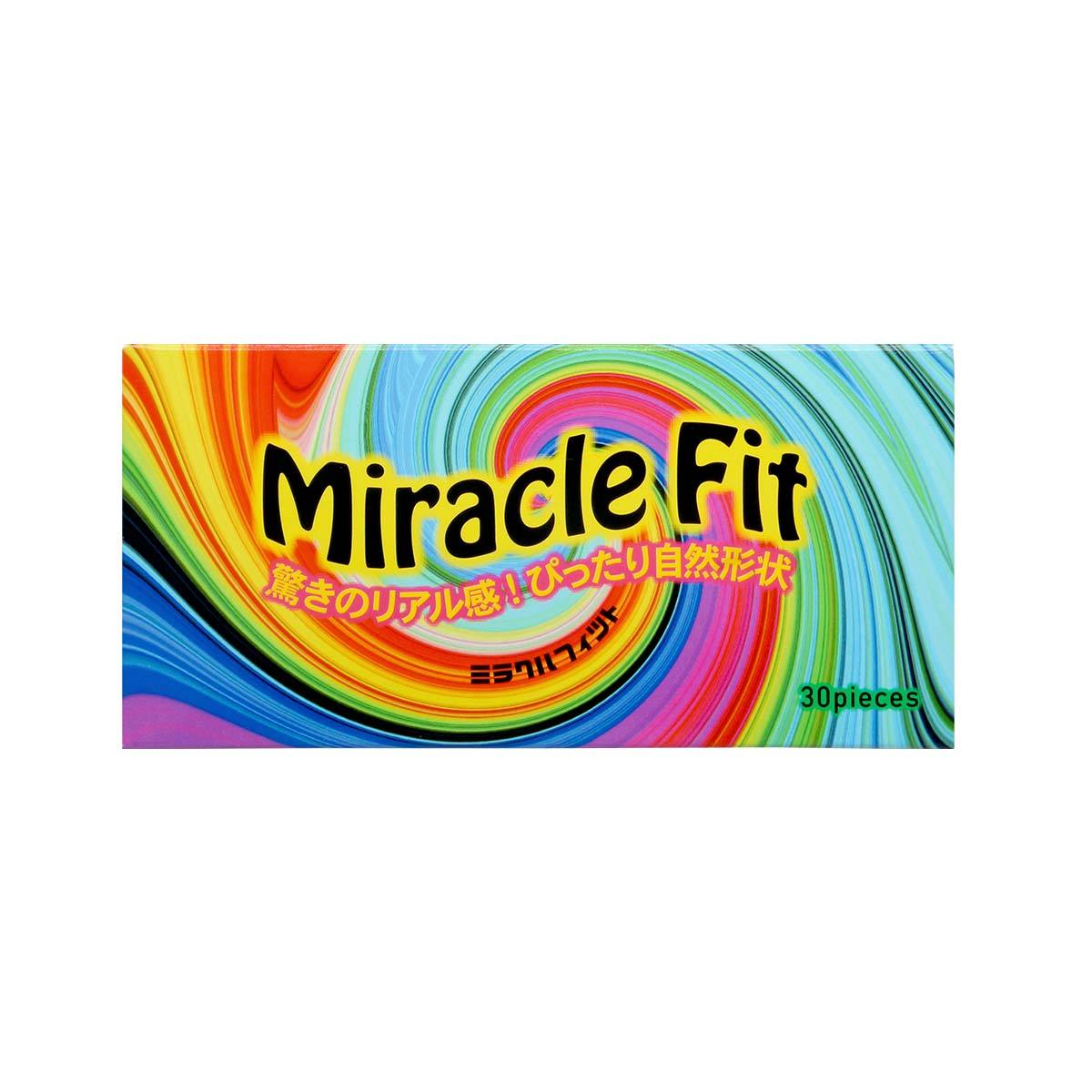Sagami Miracle Fit 30's Pack Latex Condom