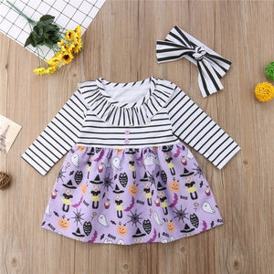 Halloween Dress 2Pcs