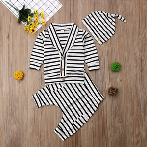 Striped Set 3Pcs