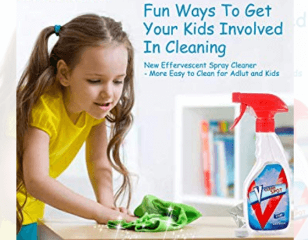 Effervescent Spray Cleaner Set (YOUR POWERFUL HELPER FOR CLEANING UP!!!!)