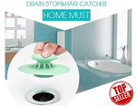 Shower Drain Stopper (NO MORE BLOCK!!! KEEP HAIR FROM THE DRAIN!!!)