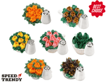 Pastry Flowers Nozzles Kit