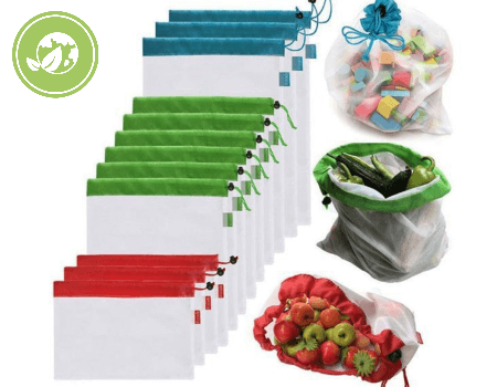 Produce Washable Bags (ECO-FRIENDLY TO OUR EARTH)