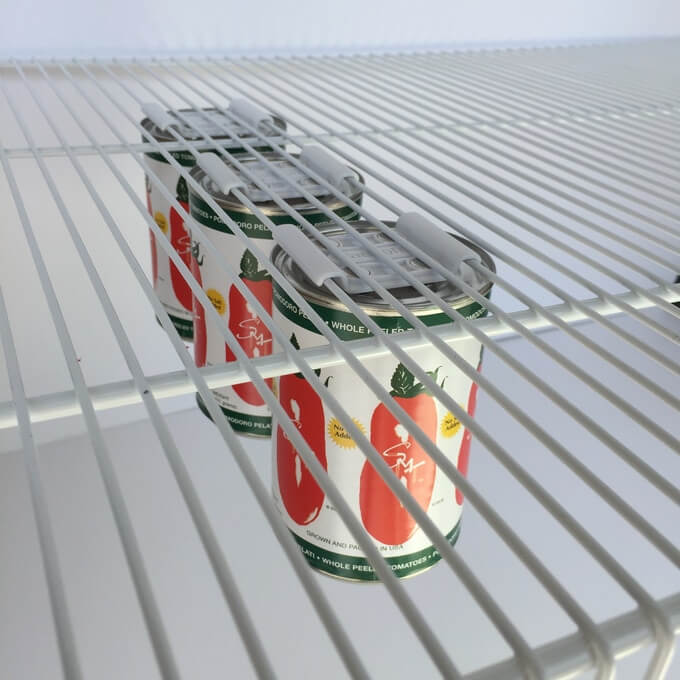 Magnetic Canned Food Hangers - Save Space In Your Pantry!