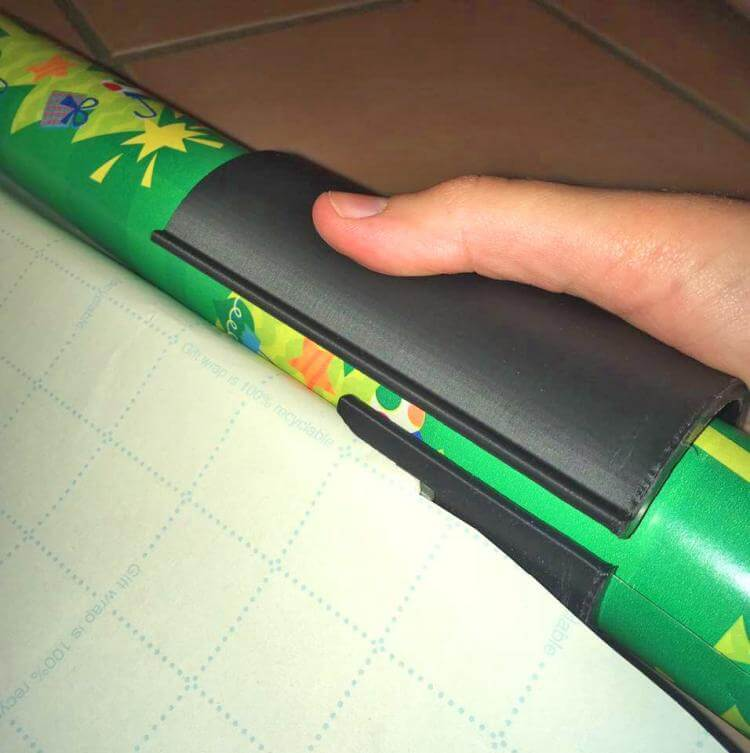 Sliding Wrapping Paper Cutter - Makes Cuts In Seconds!