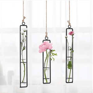 Hanging Iron Hydroponics Planter Decor