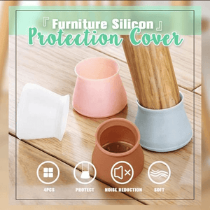 Silicone Furniture Protection Cover (Full Set of 4)