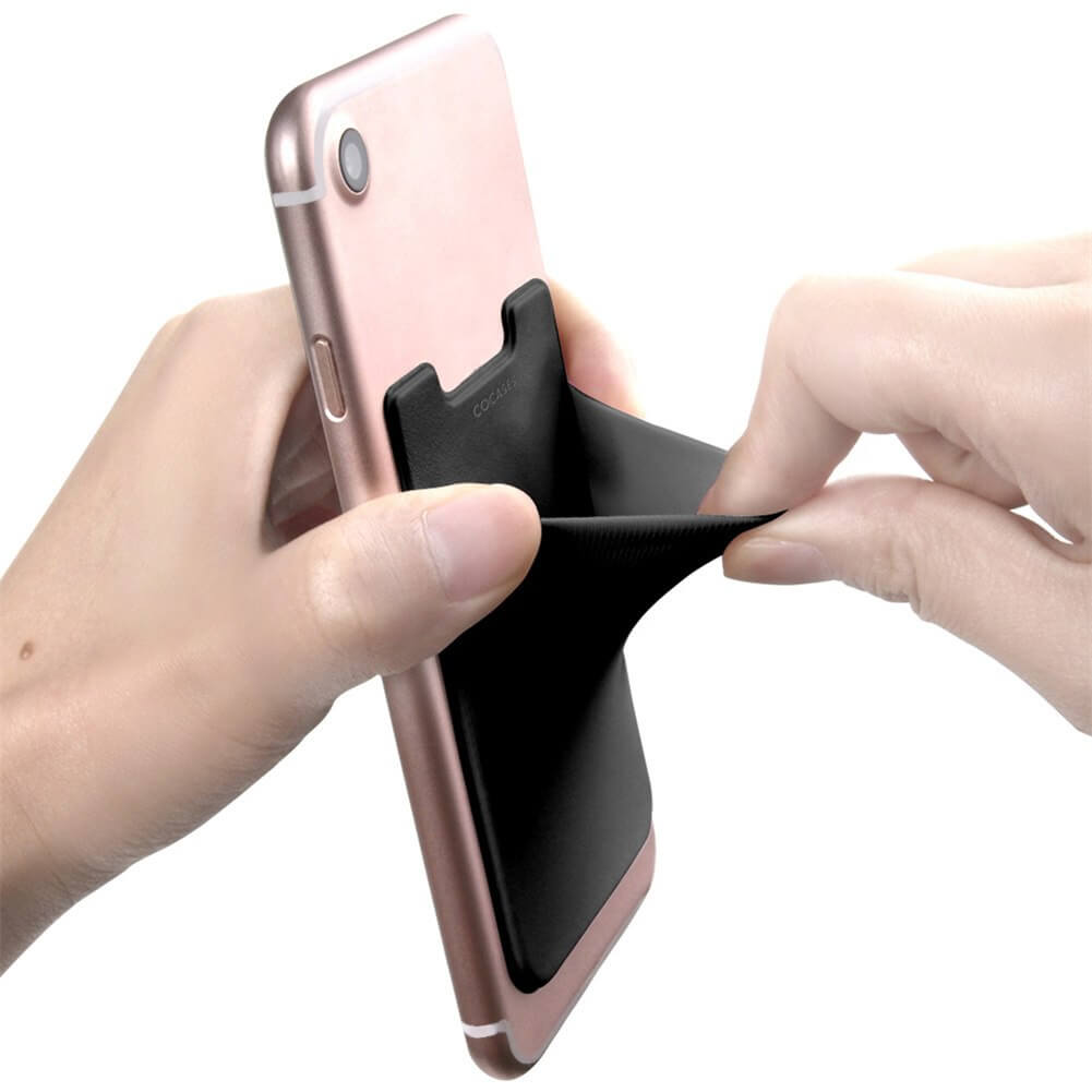 Stick-on Phone Pocket (2 PACK IN A SET)