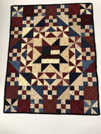 Kathy's Quilts Stars Wall Hanging