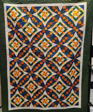 Load image into Gallery viewer, Kathy's Quilts UF Quilt for Gator Fans