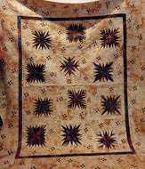 Kathy's Quilts Star Quilt Hand Dyed