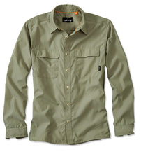 Load image into Gallery viewer, Orvis Sand Peaks L/S Shirt