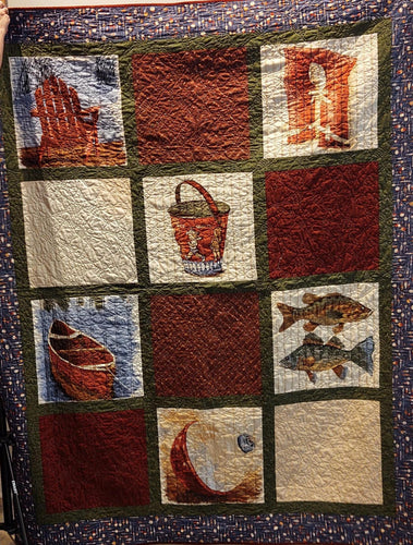 Kathy's Quilts Gone Fishing