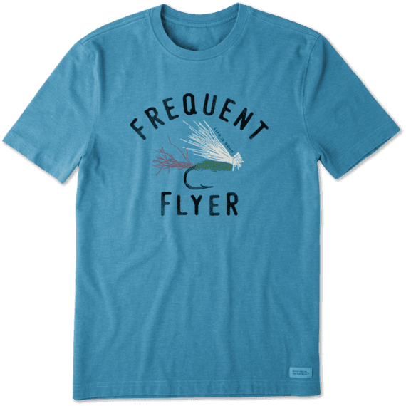 Life Is Good Crusher Tee Frequent Flyer
