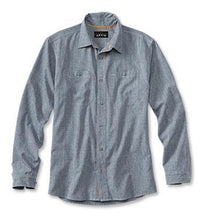 Load image into Gallery viewer, Orvis Tech Chambray W's L/S Shirt
