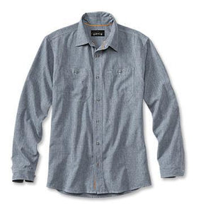 Orvis Tech Chambray W's L/S Shirt