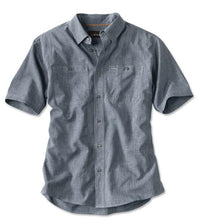 Load image into Gallery viewer, Orvis Tech Chambray S/S Work Shirt