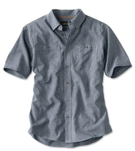 Orvis Tech Chambray S/S Work Shirt