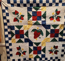 Load image into Gallery viewer, Kathy's Quilts Strawberries