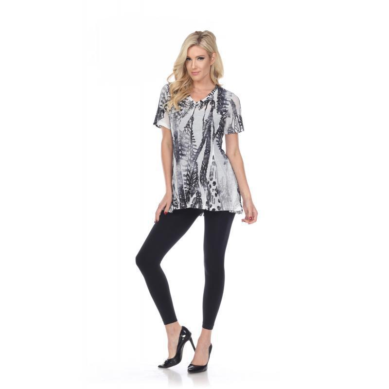 Rising International V-Neck Half Sleeve KV201350