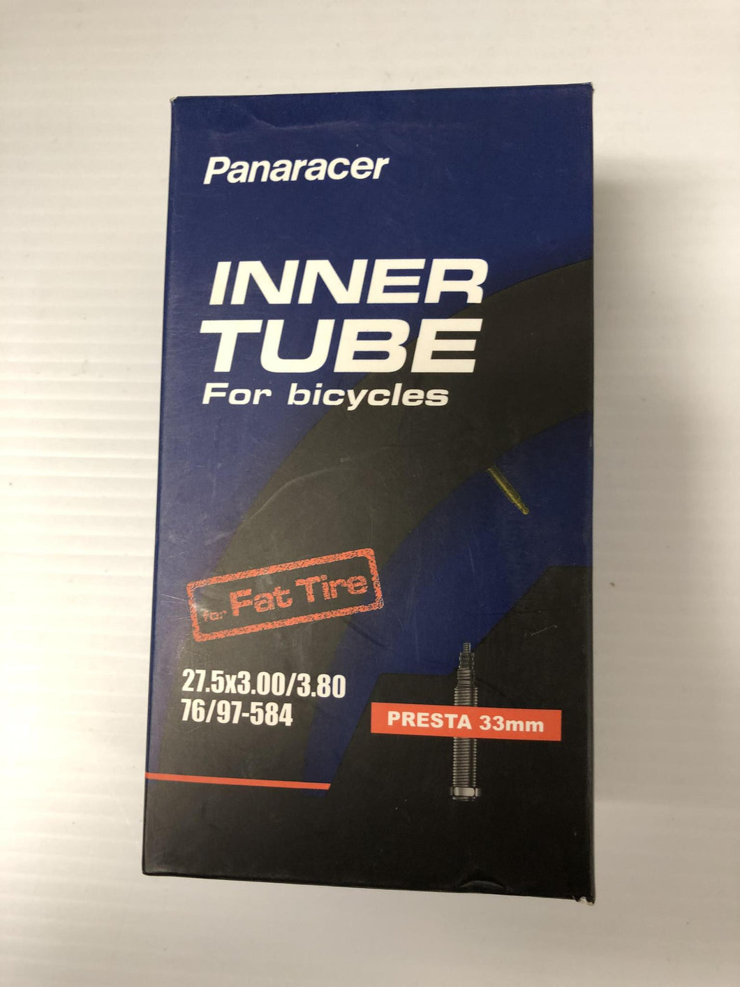 NAC  Panaracer Fat Tire Tube 27.5x3 P/V 33mm