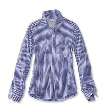 Load image into Gallery viewer, Orvis River Guide Tech  Gingham Shirt