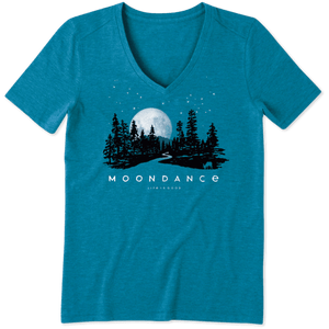 Life is Good Moondance Cool Vee Shirt S/S