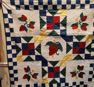Kathy's Quilts Strawberries