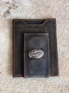 Zep Crazy Horse Front Pocket Wallet