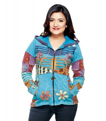 Rising International Turquoise Jacket