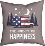 Manual Pursuit of Happines Pillow