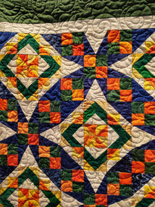 Kathy's Quilts UF Quilt for Gator Fans