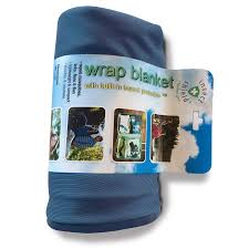 Insect Shield Outdoor Blanket Blue