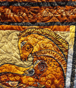 Kathy's Quilts Embracing Horses