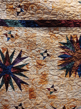 Load image into Gallery viewer, Kathy's Quilts Star Quilt Hand Dyed