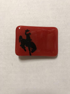 MK Glass Bronco Buckle