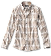 Load image into Gallery viewer, Orvis Techambray Plaid Workshirt