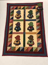 Load image into Gallery viewer, Kathy's Quilts Girls With Hats Wall Hanging