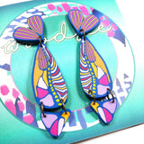Cane Make This - Abstract Fish Dangles