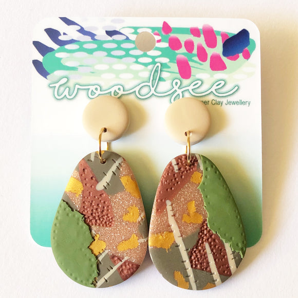 Eclectic Abstracts - Autumn Dangles