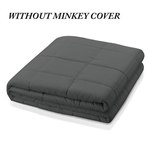 6.8kg/9kg Weighted Blanket Adult Full Queen Size Cotton cover heavy blanket reduce Anxiety quilt for bed sofa winter comforter