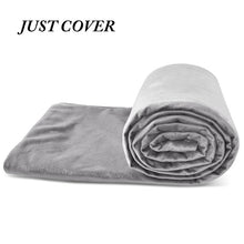 Load image into Gallery viewer, 6.8kg/9kg Weighted Blanket Adult Full Queen Size Cotton cover heavy blanket reduce Anxiety quilt for bed sofa winter comforter