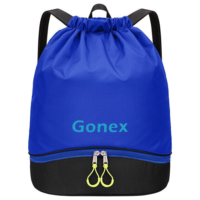2019 Multifunctional Backpack for Swimming Beach Football Gym, Waterproof Wet Dry Pool Bag for Clothes Shoes Fashion Style