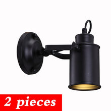 Load image into Gallery viewer, Wall Lamp Retro Industrial wall Light adjustable light sconce fixtures for Restaurant bedside Bar Cafe Home Lighting E27