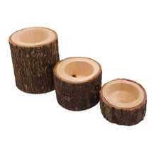 Load image into Gallery viewer, Wooden Candlestick Candle Holder Round Candle Holder Table Desktop Decoration Plant Flower Plot 2020 New