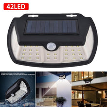 Load image into Gallery viewer, LED Solar Power Light Motion Sensor Wall Lighting Outdoor Garden Decoration lamp Stair Pathway Yard